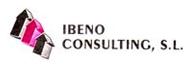 logo de ibeno consulting en rosa y gris